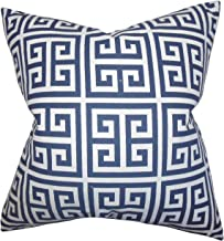 The Pillow Collection Ilaria Floral Bedding Sham Domino King//20 x 36