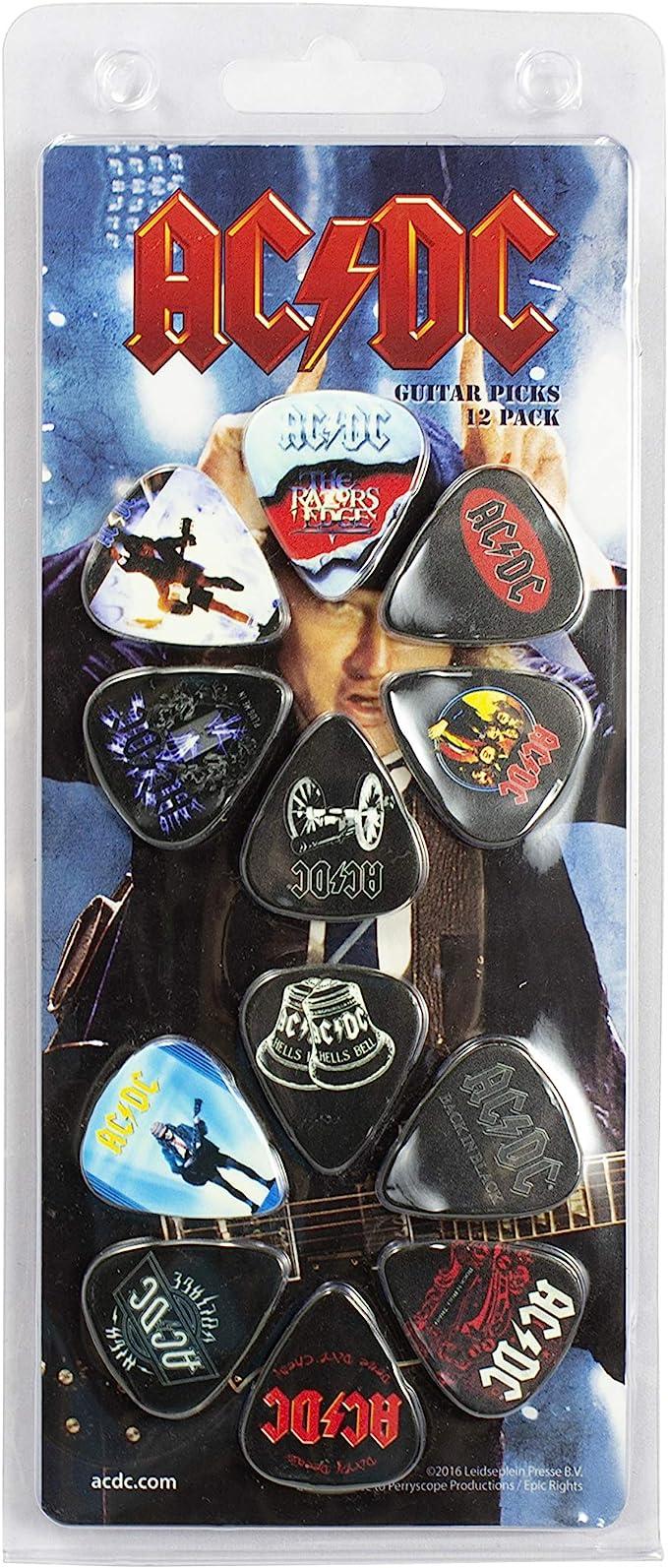 Perris Rush Licensed Guitar Picks 12 Pack
