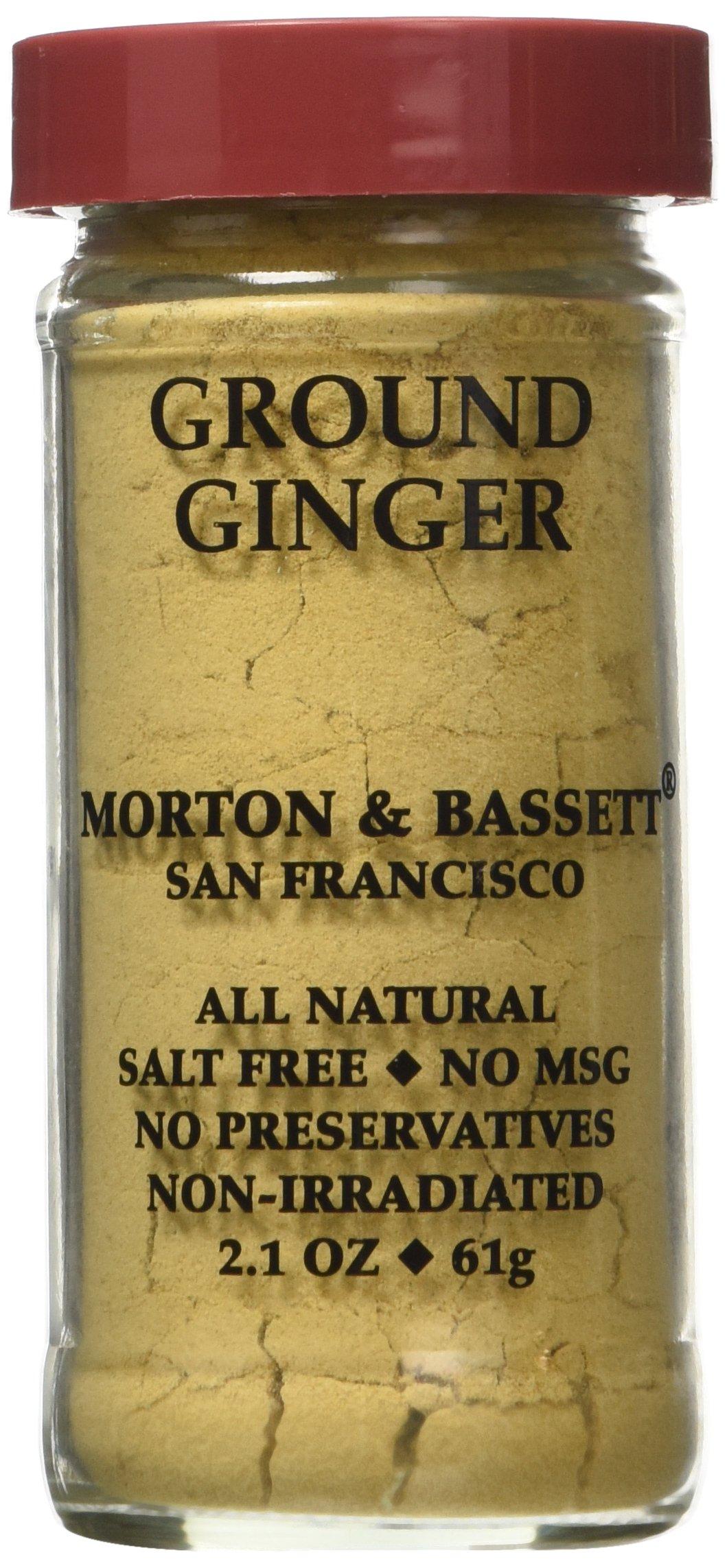 Morton & Bassett Ground Ginger, 2.1-Ounce jar