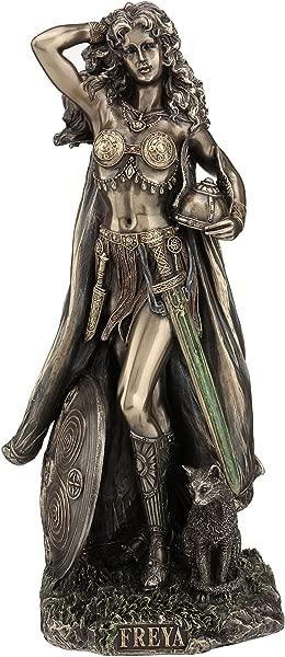 Freya Norse Goddess Of Love Beauty And Fertility Statue