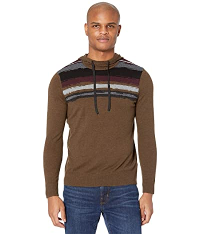 Smartwool Sparwood Hoodie Sweater (Military Olive Heather) Men