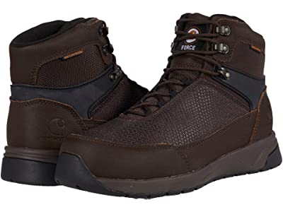 Carhartt Force 6 Waterproof Nano Composite Toe (Espresso) Men