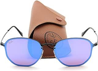 Ray-Ban RB3579N BLAZE HEXAGONAL Mirror Sunglasses 153/7V, 58mm