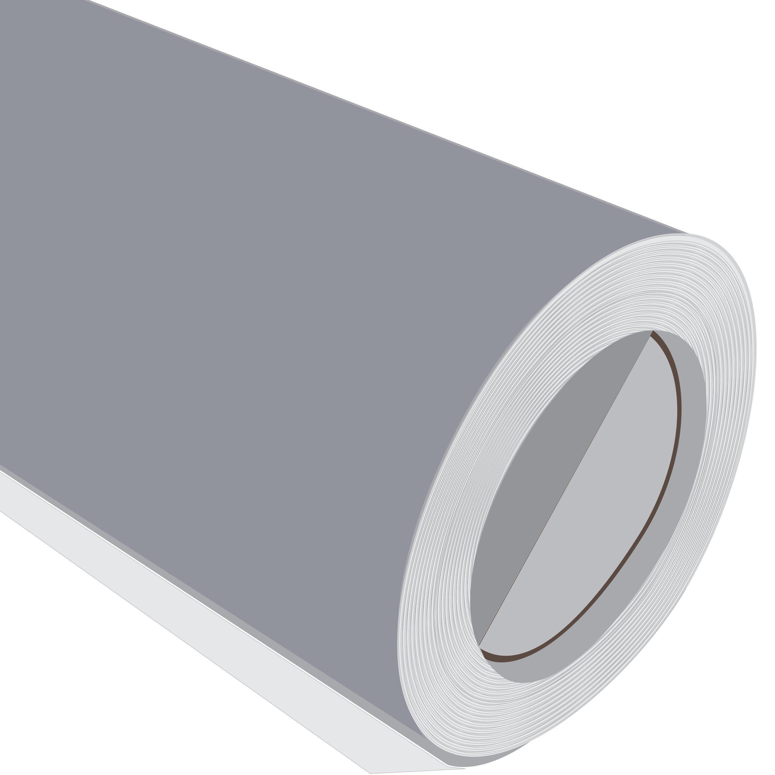 3 Metre (3 m) rollo de HD plata brillante 610 mm de ancho Vinilo autoadhesivo: Amazon.es: Hogar