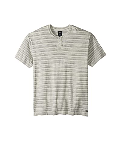 RVCA Exhauster Short Sleeve Henley (Antique White) Men