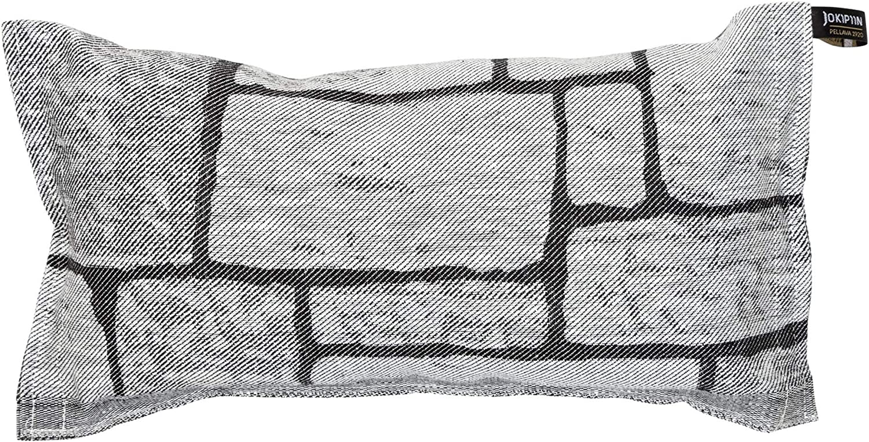 Sauna Pillow Kivetys by Jokipiin Pellava White Black