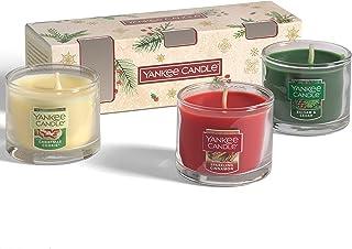 Yankee Candle Coffret cadeau | Bougies de Noël parfumées | 3 mini bougies Yankee Candle | Collection Magical Christmas Mor...