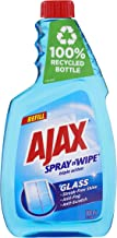 Ajax Spray n' Wipe Triple Action Ammonia Free Glass Cleaner Anti Streak Anti Fog Anti Scratch Refill Made in Australia 10...