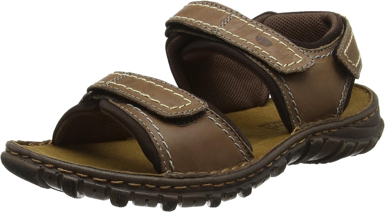 Josef Seibel Canim Mens Leather Casual Sandals