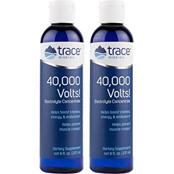 Trace Minerals 40,000 Volts, 8-Ounce (Pack of 2)