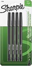 Sharpie Pen Fine Point Pen , 4 Black Pens (1742661)