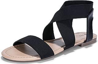 Best black criss cross sandals flat Reviews