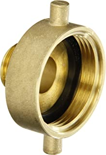 Dixon Valve & Coupling HA1576 Brass Fire Equipment, Hydrant Adapter with Pin Lug, 1-1/2
