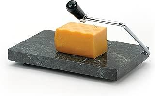 RSVP International (GCS) Green Marble Cheese Slicer & Cutter, 5