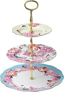 Royal Albert Devotion Gratitude and Joy 3-Tier Cake Stand Designed by Miranda Kerr