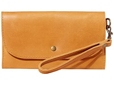 ABLE Mare Phone Wallet (Cognac) Wallet Handbags