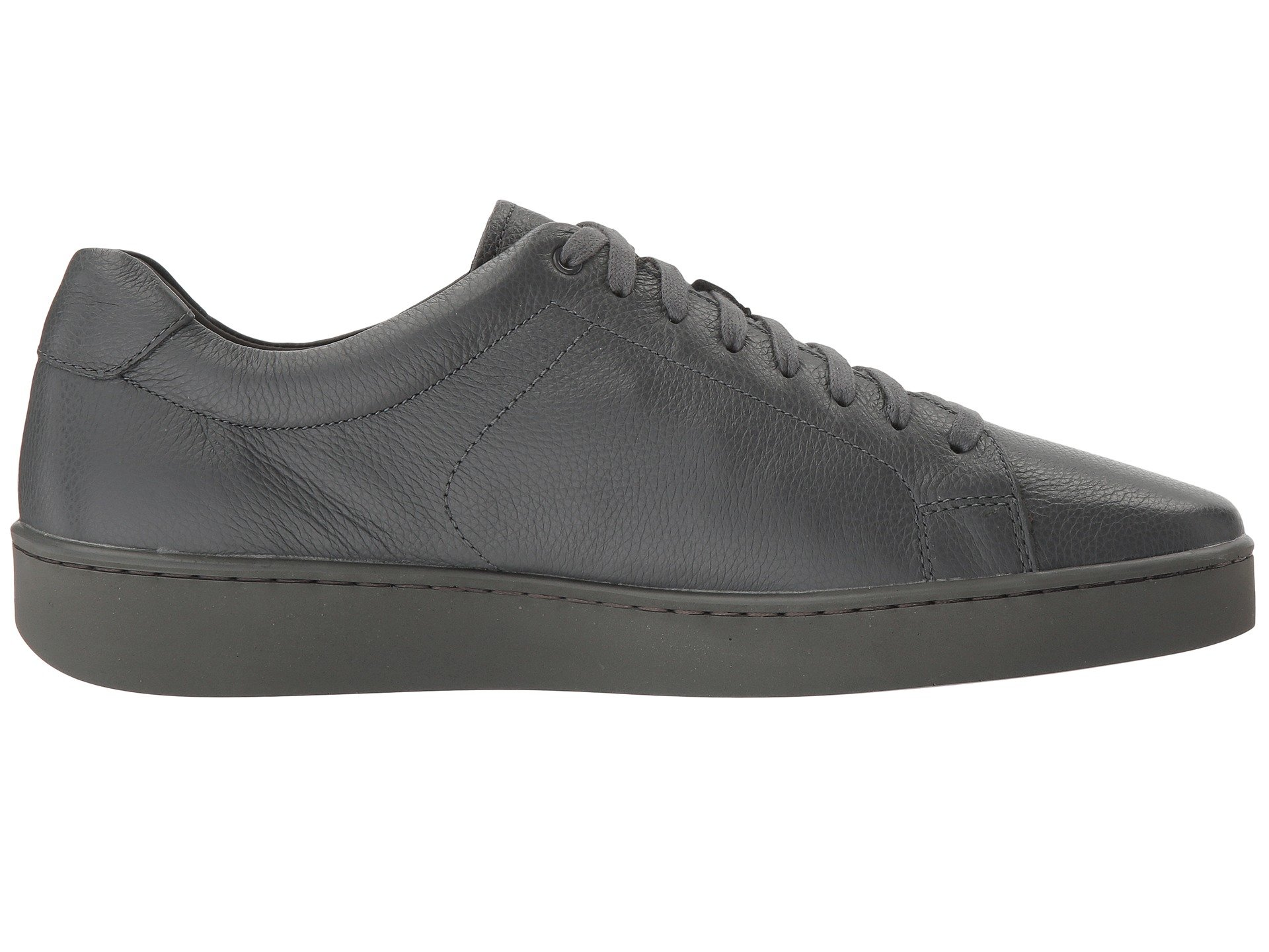 Vince Slater Leather Sneaker At Zappos Com