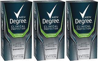 Degree Men clinical & Antiperspirant & Deodorant, extreme fresh 1.7 Oz (Pack Of 3), Original Version