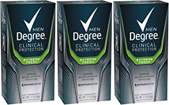 ° Men Clinical & Antiperspirant & Deodorant, Extreme Fresh 1.7 Oz (Pack of 3)