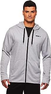 AND1 Men's Full Zip Up Hoodie Sweatshirt - Hooded Basketball & Activewear Light Jacket