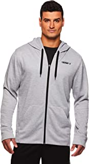 AND1 Men's Full Zip Up Hoodie Sweatshirt - Hooded Basketball & Activewear Light Jacket