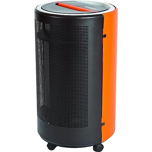 Butsir EBBC0200 - Estufa a gas butano, negro/naranja