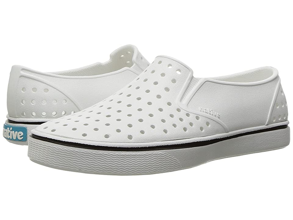Native Kids Shoes Miles Slip-On (Little Kid/Big Kid) (Shell White/Shell White) Kids Shoes