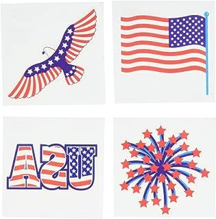 Patriotic Party Tattoos, 4