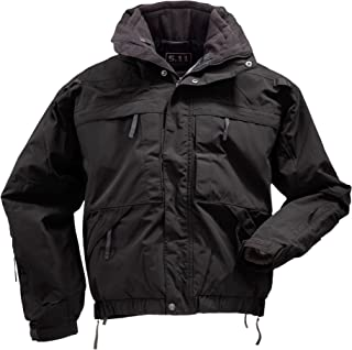 5.11 Tall Men's 5-in-1 All-Weather Adapatable Jacket - Zip-Off Sleeves, Removable Fleece, Style 48017T