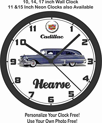 amazon 1955 u s army m48 tank wall clock free usa ship home 1951 Willys Jeep jim s classic clocks 1956 cadillac hearse wall clock free usa ship