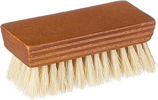 [ルボウ] 握りやすいサイズの豚毛ブラシ ミニ ピッグヘアブラシ 靴磨き