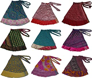 Women's Plus Size Sari Magic Skirt, One Size, Assorted