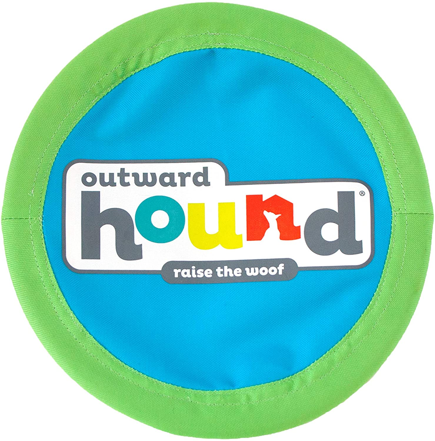 Outward Excellence Hound Soft latest Fetch Flyer Dog Flying Toy Disc Blue Large
