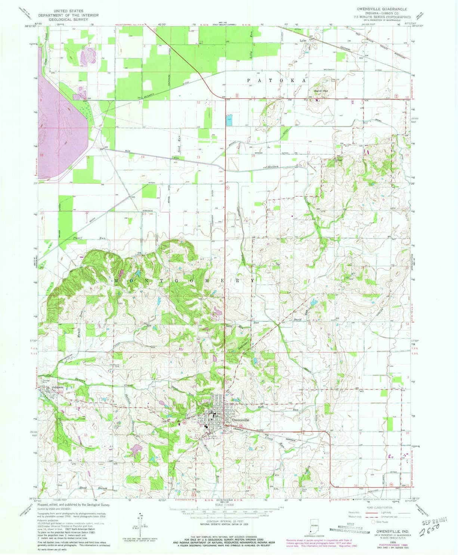 YellowMaps Bayou Boeuf LA topo map 1998 7.5 X 7.5 Minute Historical 26.8 x 21.6 in Updated 2000 1:24000 Scale