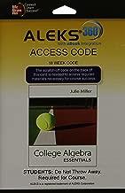 ALEKS 360 Access Card (18 weeks) for College Algebra Essentials