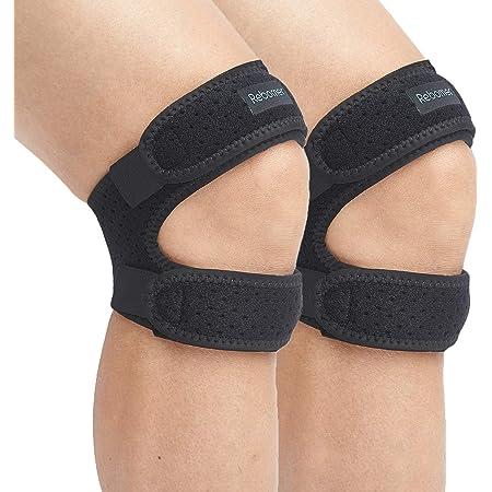 ABSOAR Patella Knee Strap Pain Relief Support Brace Patellar Stabilizer Brace Running 2PACKS