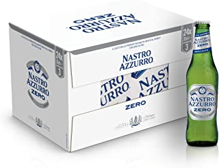 Nastro Azzurro Birra Analcolica- Cassa da 24 x 33 cl (7.92 l)