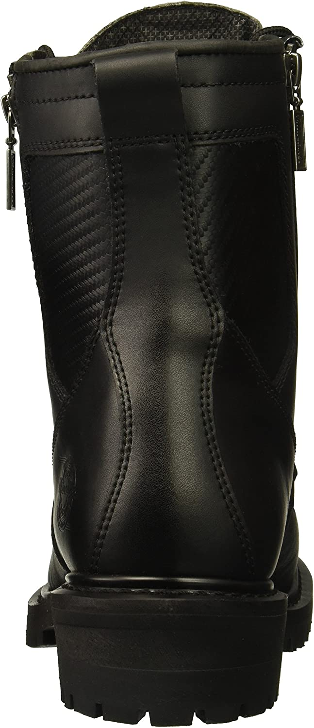 Milwaukee Motorcycle Clothing Co MB416 Men/'s Trooper Moto Boot Round Toe
