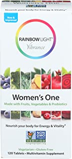 Rainbow Light, Multivitamin Womens One, 120 Count