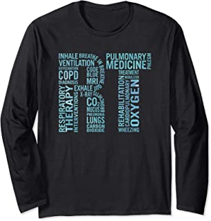 RT Care Gifts Respiratory Therapist Long Sleeve T-Shirt