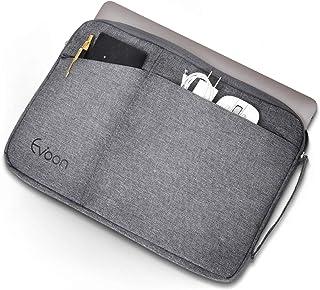 Evoon パソコン ケース ノートパソコン ケース 11.6-12.5インチ 防水/衝撃吸収/多機能 MacBook/iPad/ラップトップ/タブレット インナーバック PCケース PCバッグ(12.5inch グレー)