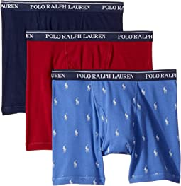 Classic Fit w/ Wicking 3-Pack Boxer Briefs