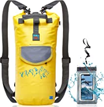 Water Proof Dry Bag - Submersible Backpack with Double Fixing Lock and Smart Storage for Camera - Drybags for Kayak Boating, Float, Canoe, and Other Water Activities