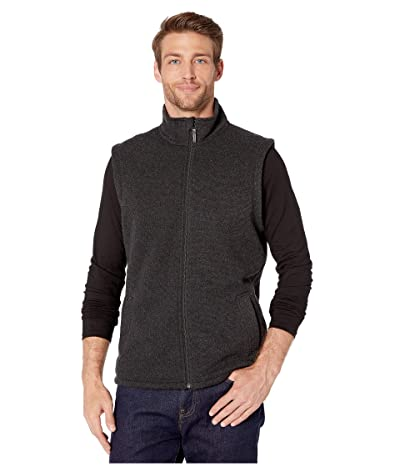 Smartwool Hudson Trail Fleece Vest (Dark Charcoal) Men