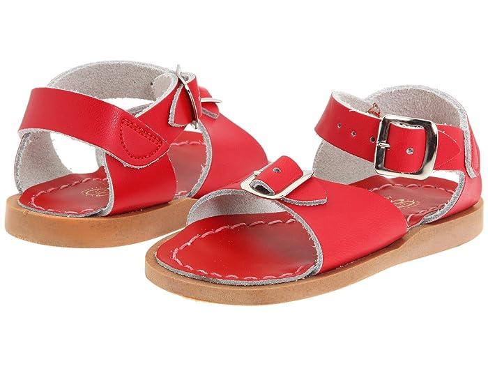 Salt Water Sandal by Hoy Shoes  Surfer (Toddler/Little Kid) (Red) Kids Shoes