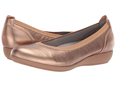 Dansko Kristen (Rose Gold Nappa) Women