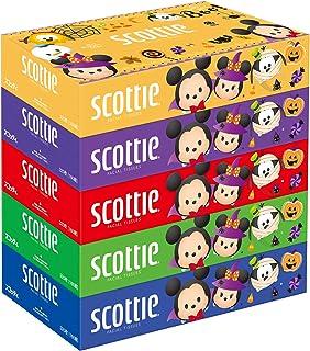 スコッティ ティシュー 320枚(160組) 5箱 ディズニー ハロウィン