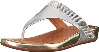 FitFlop Womens Banda Micro Crystal Toe Post Banda Micro Crystal Toe Post