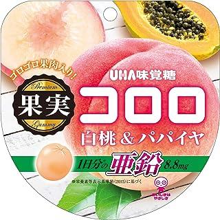 味覚糖 果実コロロ 白桃&パパイヤ袋 52g×6袋