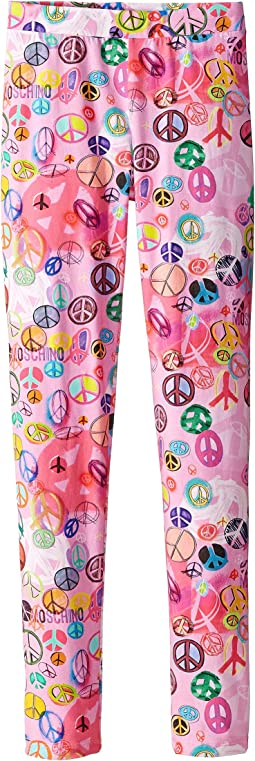 Peace Sign Leggings (Little Kids/Big Kids)